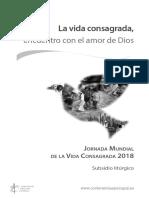 2018 Vidaconsagrada Jornada Subsidio