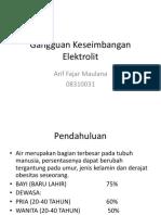 203618381 Gangguan Keseimbangan Elektrolit