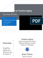 Brain Fitness for Positive Aging