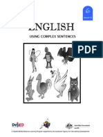 LM_GRADE 6_English 6 DLP 33 - Using Complex Sentence