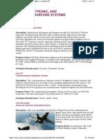 Sensoren - Sensors, Electronic and Information Warfare Systems