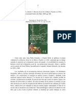Historia Social de La Musica Popular Chile