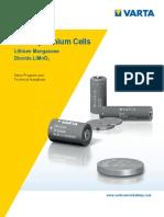 HANDBOOK Primary Lithium Cells En