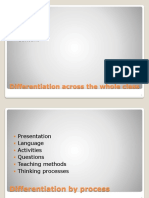Differentation Powerpoint