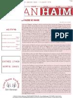Mayan 'Haim Bo 5778