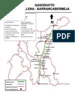 Mapas de Gasoductos