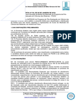 EDITAL (PGCM) n 2, De 30-01-2018 - Publicado