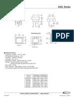 Transformador de Audio 42XL016