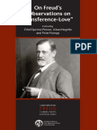 (Contemporary Freud) Fonagy, Peter_ Freud, Sigmund_ Hagelin, Aiban_ Person, Ethel Spector-On Freud's _Observations on Transference-love_-Karnac in Association With the International Psychoanalytical A