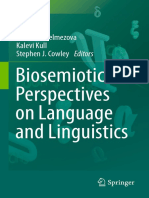 (Biosemiotics 13) Ekaterina Velmezova, Kalevi Kull, Stephen J. Cowley (Eds.)-Biosemiotic Perspectives on Language and Linguistics-Springer International Publishing (2015)
