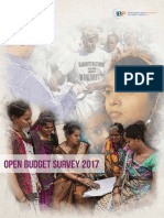 Open Budget Survey 2017 Report English