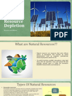 Natural Resource Depletion - Reasons & Effects
