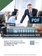 SCE PT 012-105 Hardware Configuration S7-1500 R1703
