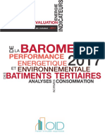 Barometre Performance Energetique Batiments Tertiaires 2017