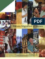Return Migration of Nurses