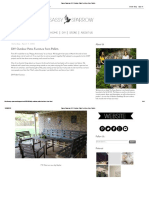 Sassy Sparrow_ DIY Outdoor Patio Furniture From Pallets