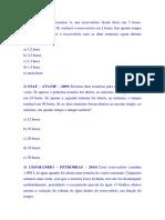 Exercícios Sobre Torneiras - Feito 1 , 2. - Gabarito Docx