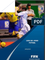 Livro Leis Do Jogo de Futsal 2010.2011