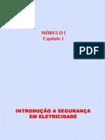 1- INTRODUÇÃO À SEGURANÇA EM ELETRICIDADE - MOD. 01 - CAP. 01.pps