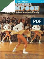 National Lampoon 1964 High School Yearbook Parody 1979
