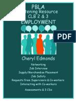 CLB 2 3 Listening Resource Employment
