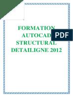 FORMATION AUTOCAD STRUCTURAL DETAILIGNE 2012.docx
