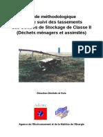 Guide Tassements 2005 ADEME Lirigm