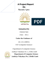 Project Class 12 Computer Science