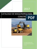 Catalogo de Maquinaria Para Construcción