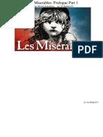 Les Miserables Prologue Piano