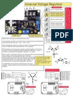 Regulador Automatico de Voltaje SS053 - CRAM