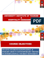 Contemporary Trends in International Tourist Movement (1)