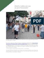 Qué Es El Default y Cuáles Son Sus Consecuencias Para Venezuela