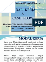 13. Modal Kerja & Cash Flow