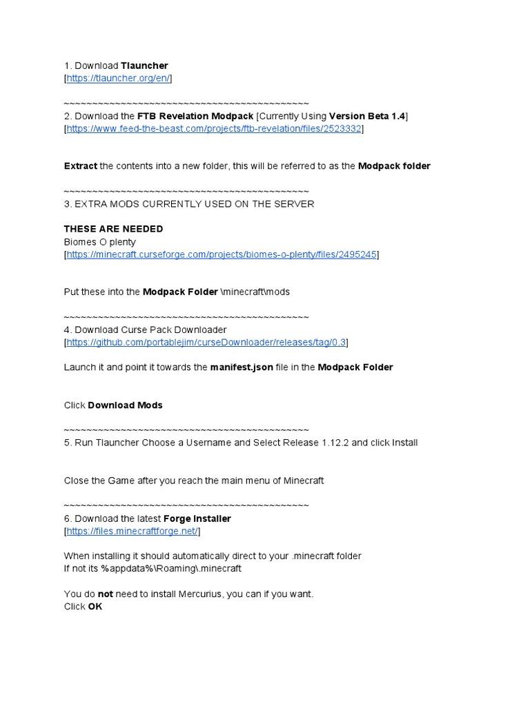 FTB Guide pdf