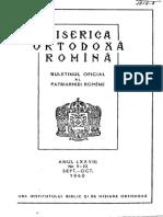I. N. - La 600 Ani de La Nasterea Marelui Pictor Bisericesc Andrei Rubliov (B.O.R., 1960, 9-10)
