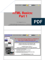 HTML Basics 1