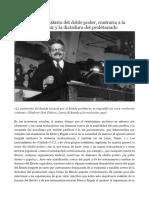 Trotsky y Doble Poder