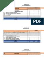 Trabajo de Excel Cuadros y Grafico