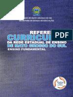 Referencial Curricular Da Rede Estadual de Ensino de Mato Grosso Do Sul