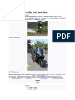 Electric Motorcycles and Scooters