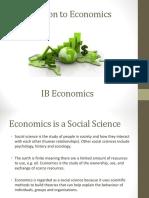 1. the Foundations of Economics