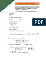 Treball Polinomis i expressions algebraiques