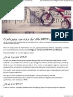 VPN PPTP en Mikrotik