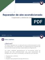 Evaporador y Valvula de Control (Infografia - Leccion 3)