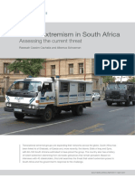 Violent Extremism in South africa