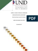 Elementos que integran un proyecto de investigación