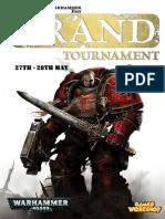 40K GT Pack Warhammer Fest