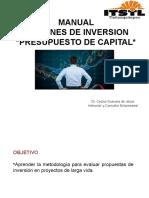 Manual Decisones de Inversión Consultek