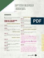 Eote Errata v20